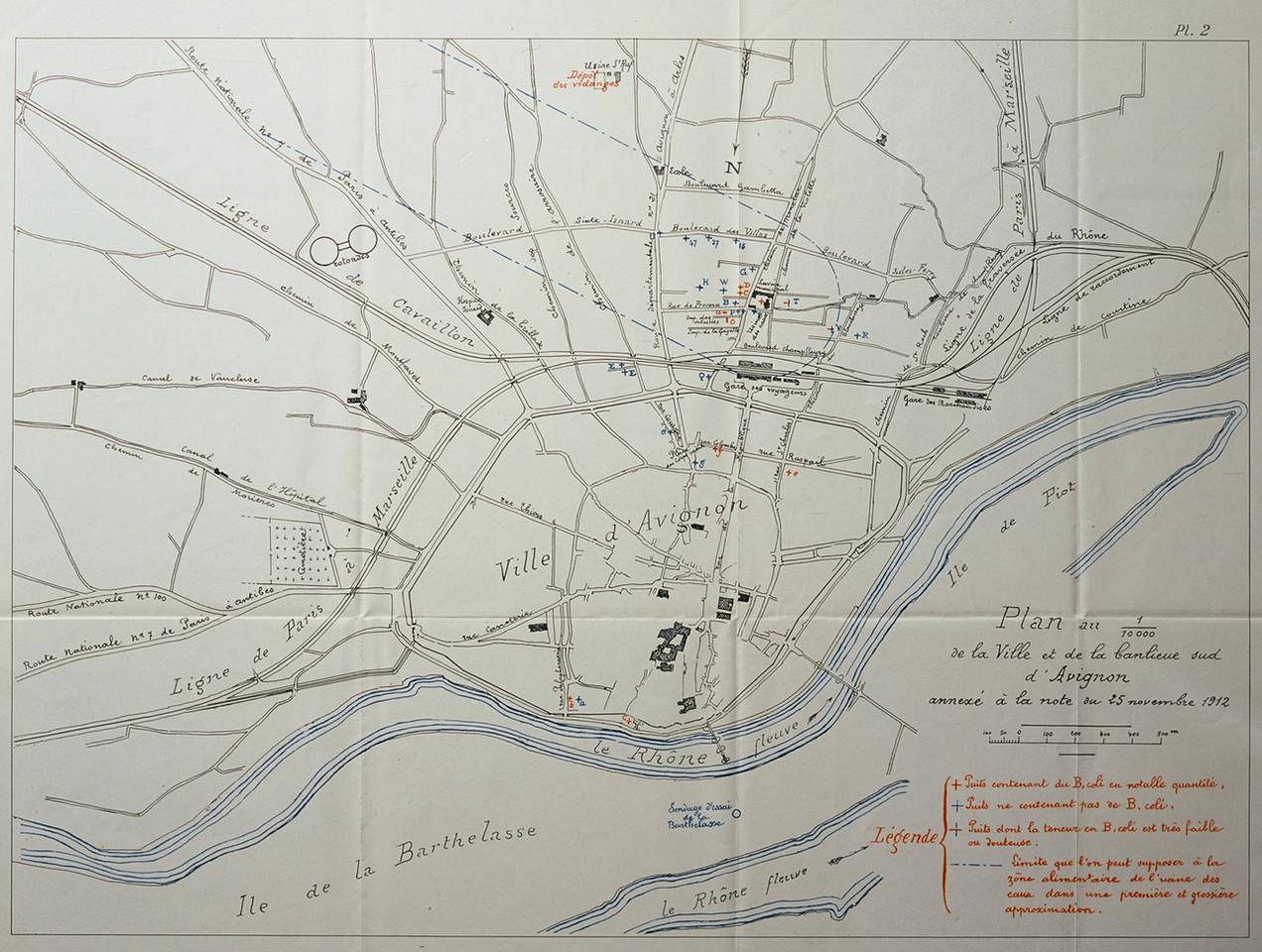 1912 – Les puits et la fièvre typhoïde
