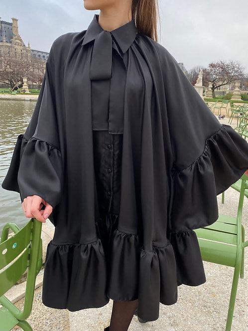L'angélique La robe-chemise 100% soie