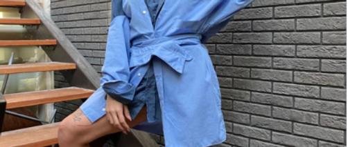 Upcycling bleu & blue