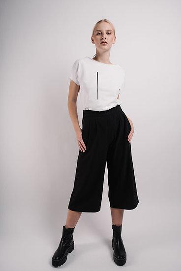 kalhoty culottes short