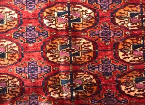 Vintage Teke 'Bohara' Carpet
