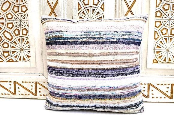 Vintage Kilim Pillow          40 x 40 cm -  Sea