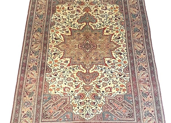 Vintage Kayseri Star Medallion Carpet
