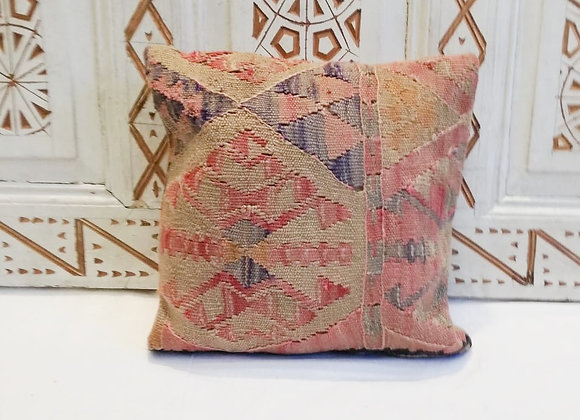 Vintage Turkish Boho Pillow                     40x40cm  Pastel antique