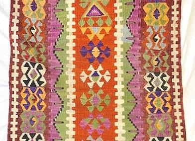 Vintage Nomadic Kilim - Afyon /Turkey