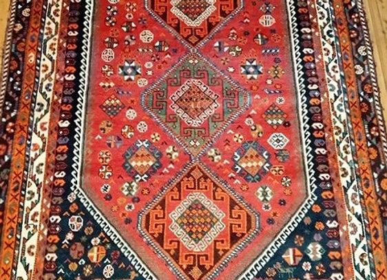 Qasqai Shiraz Tribal Rug