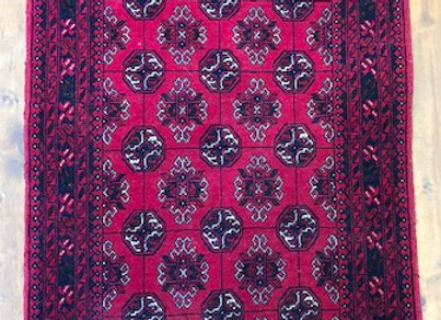 Afghan Turkman Bohara design carpet