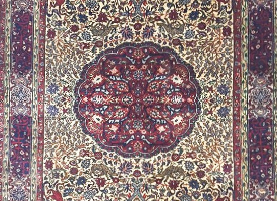 'Garden of Eden'  Hereke Carpet