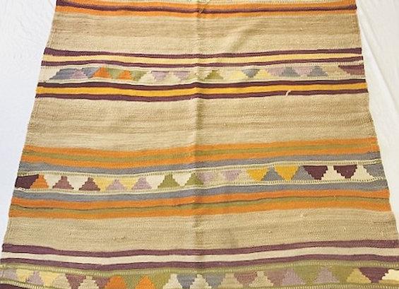Vintage Nomadic Kilim - Camel stripes