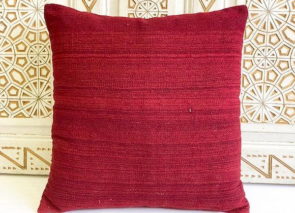 Vintage Kilim Pillow - Dark Sienna