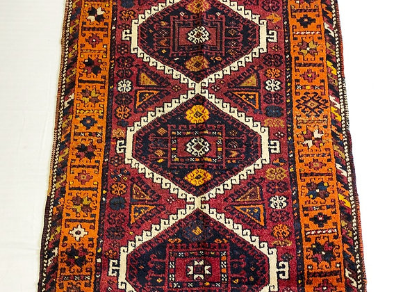 Vintage Malatya Kudish Rug - So Tribal