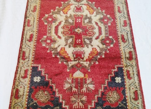 Vintage Taspinar Village Rug / Turkey - Pure wool