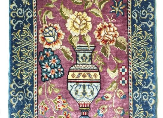 100% Pure Turkish Silk Carpet
