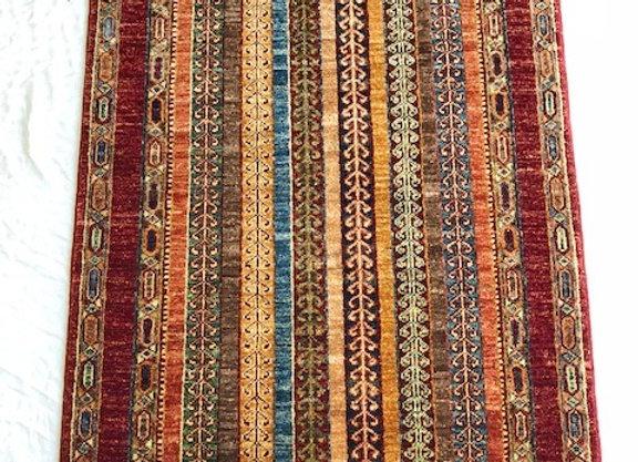 Sal Design Carpet - Multi color Stripe