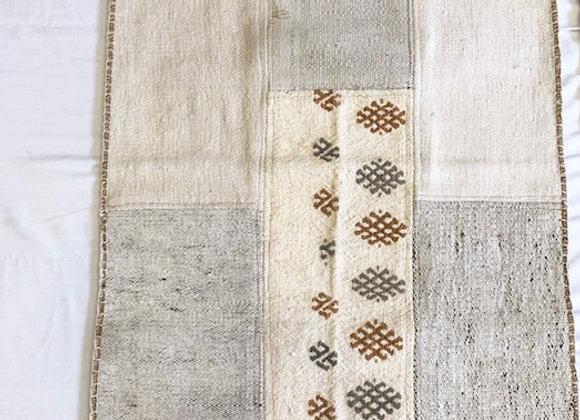 Vintage Kilim Patchwork Rug  - 1