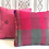 Thumbnail: Hot Pink Check Boho Pillow                                               40x40cm