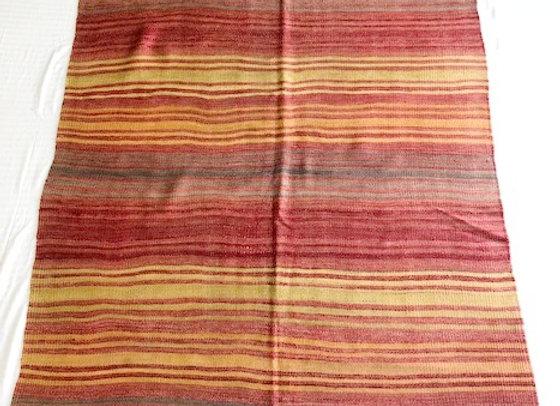 Konya Kilim - Vintage Boho Stripe