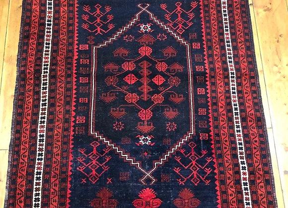 Vintage Turkish Yagibedir Rug  - very fine