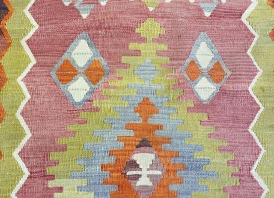 Vintage Afyon Dowry Kilim