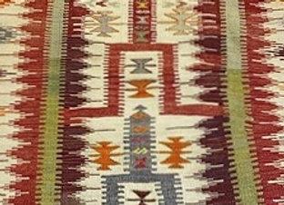 Vintage Konya Karapinar Kilim