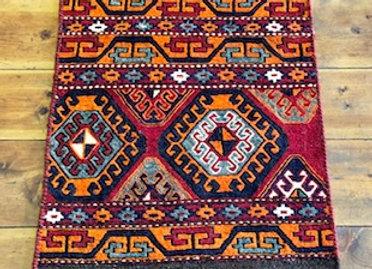 Vintage Soumak Kıilim - Shahseven Tribe / Iran
