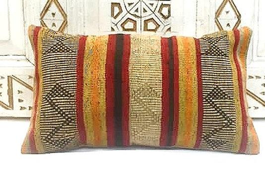 Vintage Turkish Boho Pillow               New Size 50 x 30cm