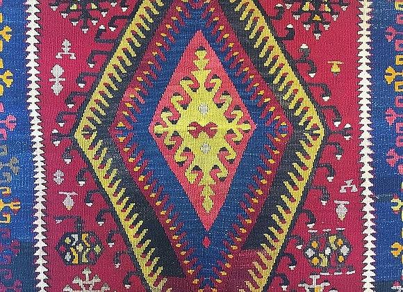 Fine Vintage Adityaman Kilim