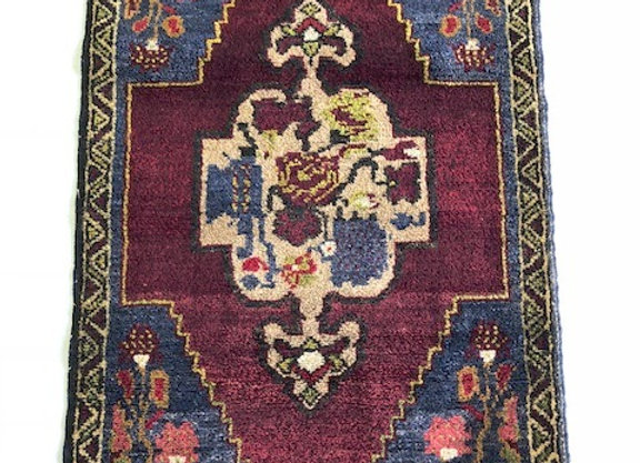 Unique Floral Village Rug - Turkey