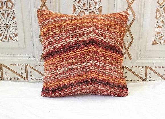 Vintage Kilim Pillow               40 x 40 cm  Textured sun