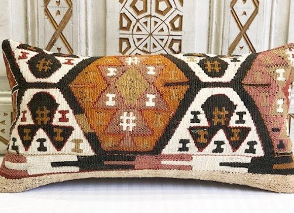 Vintage Kilim Pillow - Small lumber 60 x 30cm