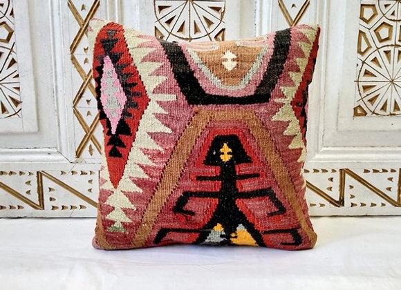 Vintage Turkish Boho Pillow     'Goddess motif'