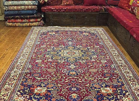 Elegant Vintage Kayseri Carpet