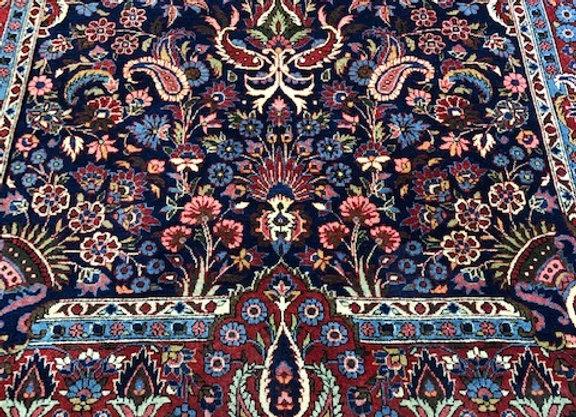 Vintage Keshan 'Flower Garden' Carpet
