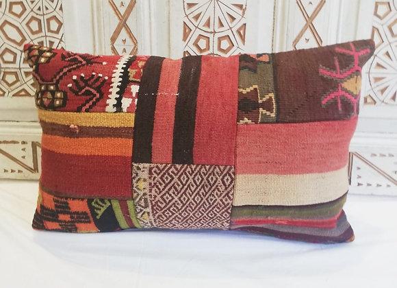 Vintage Boho Pillow                                          Patchwork 65 x 40cm
