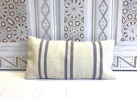 Blue Stripe Turkish Pillow                                               60x30cm
