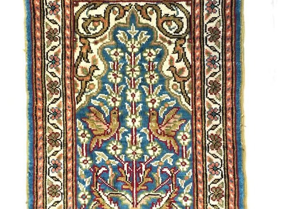 100% Pure Turkish Silk Carpet