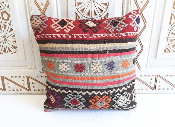 Turkish kilim Cushion  - Nomad design