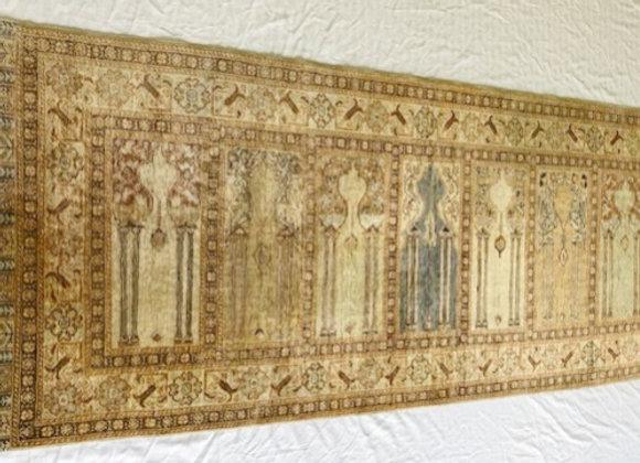 Soft Vintage Pastel Hallway Rug - Multiple Niche Kayseri