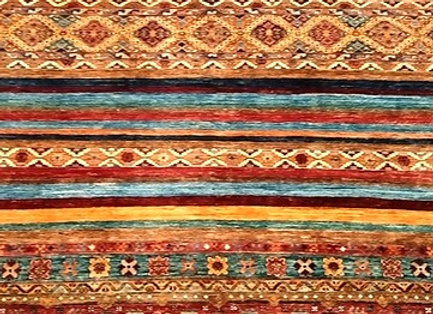 Turkish Tribal Design - Natural Dyes