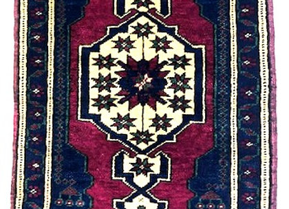 Vintage Taspinar Village Rug / Turkey - Great value