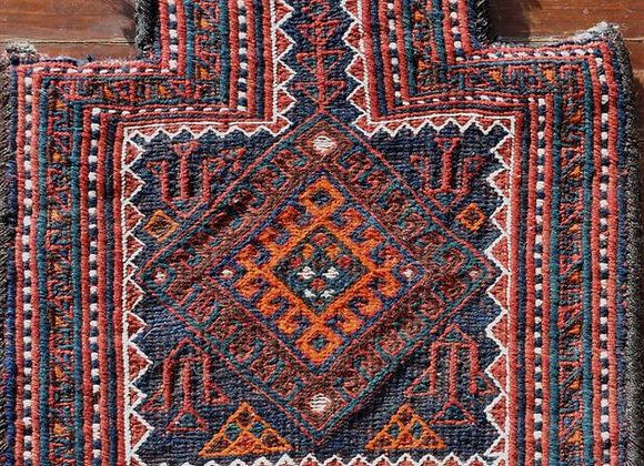 Vintage Nomadic woven Salt Bag - Tribal Decorations
