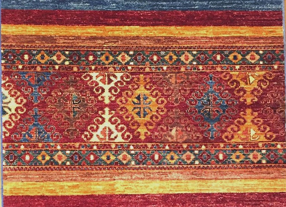 Contemporary Tribal Design Hall Rug