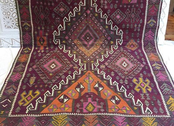 Vintage Kurdish Kilim