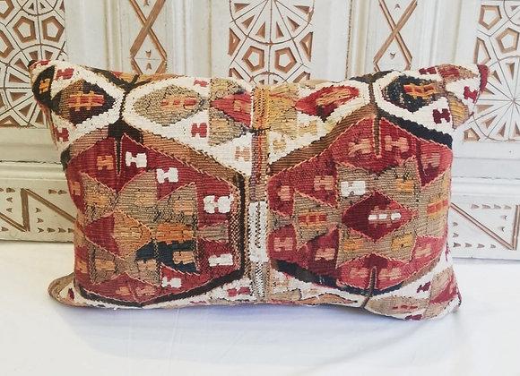 Vintage Kilim Pillow-                       Medium  60x30cm