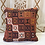 Thumbnail: Vintage Turkish Boho Pillow         40x40cm -  'Cinnamon'