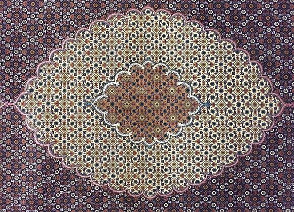 Super Fine Mahi Tabriz Carpet