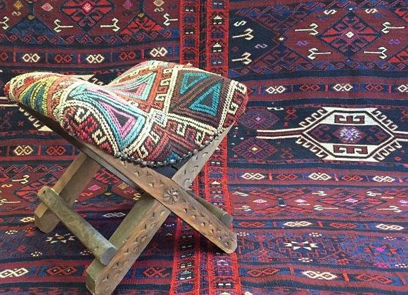 Vintage Nomadic Kurdish Kilim                                           2 panels