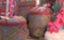Kilim poufs-ottomans-handmadepoufs-designer poufs