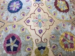 Uzbek-silk-embroidered-throw-pillow