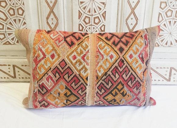 Vintage Turkish Boho Pillow                    60 x 40cm  BohoTexture
